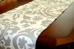 Premier Prints Table Runner Grey Suzani  13x72 by Modernality2, $19.95