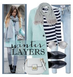 Winter layers by goreti on Polyvore featuring polyvore, CITYSHOP, Frame, French Connection, Linda Farrow and sundance