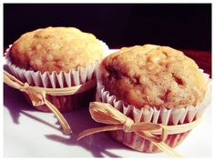 Oatmeal Banana Muffins with Agave Nectar! Banana Oatmeal Muffins, Best Sweets, Muffin Bread, Agave Nectar, Food Inspiration, Baked Goods, Food To Make, Favorite Recipes, Yummy Food
