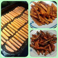 Bastones de calabaza y zanahoria  Encontra la receta en: https://m.facebook.com/comesano.cambiatuvida.com.ar #calabaza #zanahoria #snack #saludable #guarnicion #bastones #comida #food #paleo