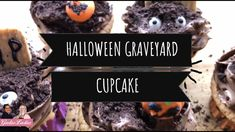 Easy To Make and Delicious Halloween Graveyard Cupcake