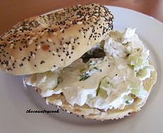 Cucumber and onion spread