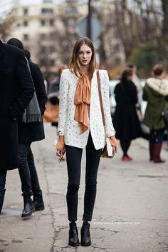 "fashion-clue: ""www.fashionclue.net| very cute blazer ensembleFashion Tumblr, Street Wear & Outfits """