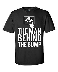 The Man Behind The Bump Dad To Be Expecting Father #Baby Pregnant - Unisex Tshirt Black XL Super Fan Shirts http://www.amazon.com/dp/B014VVRKWE/ref=cm_sw_r_pi_dp_2006vb1PFDEHS