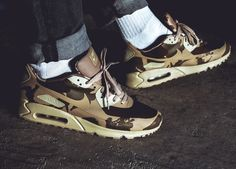 Nike Air Max 90 Hyperfuse Camo Pack UK - 2013 (by jabbarofsky)