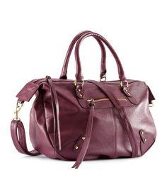 Aubergine Bag by HM Fashion