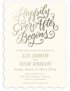 Printed Wedding Invitations Black And Silver Glitter Love