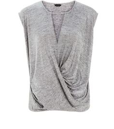 Make sure your wardrobe is complete with our must-have collection of women's tops. With free delivery options available, shop your favourites at New Look. Wrap Front Top, Must Haves, New Look, Long Sleeve, Mens Tops, Shopping, Clothes, Collection, Women