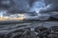 https://flic.kr/p/pP6urE | Windy day | Arctic,Sandnes,Lofoten,autumn