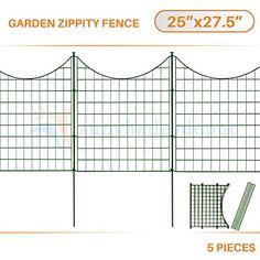 Sunshades Depot 5pcs Green Zippity Fence Garden Picket Me... https://www.amazon.com/dp/B06VT1FF6W/ref=cm_sw_r_pi_dp_x_gJ99yb164KSTA