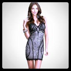 Bebe Lace Dress ( New)