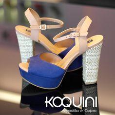 Vai dizer que não se apaixonou? Compre Online: http://koqu.in/1juzGeI #koquini #sapatilhas #euquero #meiapata