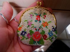 Beautiful Little Vintage Art Deco ? Beaded Coin Purse | eBay