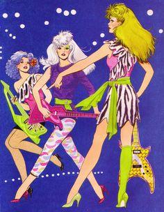 The Misfits book art #80s