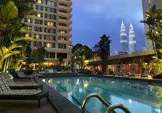 Kuala Lumpur : Federal Hotel Pool