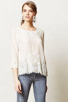 lavinia blouse / anthropologie