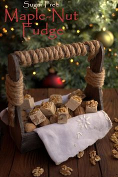 Sugar-Free Maple-Nut Fudge!!!!! The best ever!!!