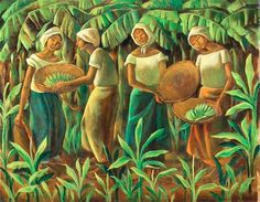 The León Gallery's Magnificent September Auction promises to present an impressive set of art work from the most esteemed names of the Philippine art world. Filipino Art, Filipino Culture, Philippine Art, Tropical Art, Naive Art, Art Pictures, Art Pics, Beautiful Artwork, Artist Art
