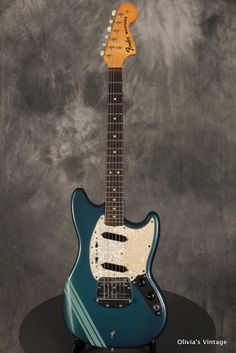 Fender Mustang 1972 Competition Blue