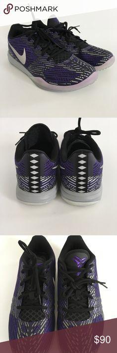 🔥HP🔥NWOT Nike Kobe Mentality basketball shoes NWOT Nike Kobe Mentality basketball shoes size 10, court purple/black/metallic silver. No box Nike Shoes Athletic Shoes