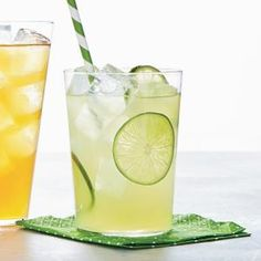 Classic Limeade 1 cup sugar 1 cup fresh lime juice  Lime slices, for garnish, optional  1. In a small saucepan over medium heat, combine sugar and 1 cup water. Cook until sugar is dissolved, about 2 minutes. Remove syrup from heat.  2. In a large pitcher, combine syrup, lime juice and 4 cups cold water. Garnish each glass with lime slices, if desired.