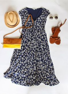 A Spring Dress: Outfit 1 // With An IE @Boden