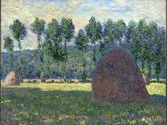 Claude Monet, Haystack At Giverny, 1885