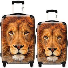 Suitcase Lion