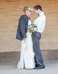 Santa Barbara Historical Museum Inspirational Wedding Photo