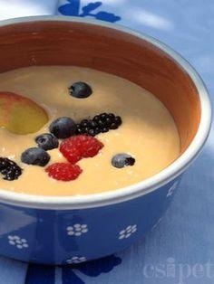 egycsipet: Joghurtos sárgabarack krémleves főzés nélkül