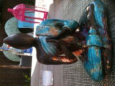 Sculpture et raku