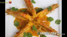 Przepis Video na Curry z Krewetkami posypane liśćmi kolendry to prawdziwa uczta w stylu orientalnym prosto z Indii