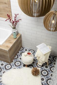 SKANDINÁVSKÁ KOUPELNA Bath Mat, Interior Design, Bathroom, Ideas, Home Decor, Nest Design, Washroom, Decoration Home, Home Interior Design
