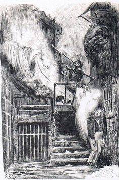 The Suicide of Nerval, Gustave Doré