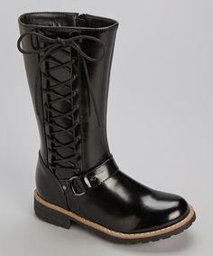 Look what I found on #zulily! Black Vilena Boot #zulilyfinds