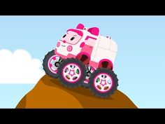 Robocar Amber mini cartoon - YouTube