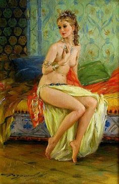 Pintura y Fotografía Artística : Impresionismo Sensual Pintura Femenina y…
