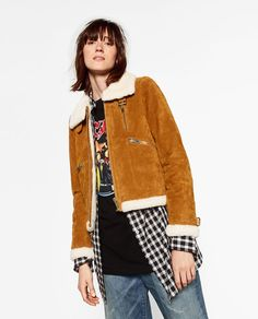 Image 5 of SUEDE JACKET from Zara