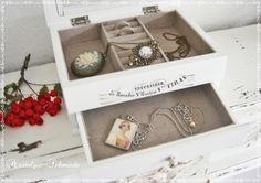 Schmuckkästchen - Schmuckkasten - ein Designerstück von Nostalgie-Schmiede bei DaWanda