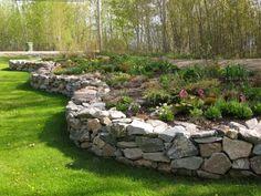 Raised Rock Garden   - Northern Exposure Gardening