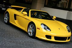 Porsche Carrera GT...completely out of reach, but I can dream...