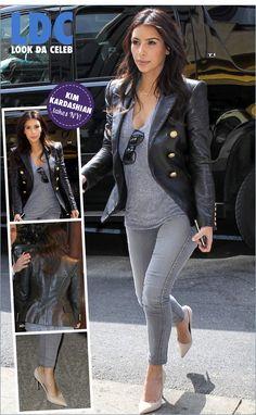 LDC: Kim Kardashian em Nova York e na Vogue - Fashionismo