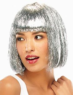Tinsel Town Costume Wig by Jon Renau Illusions. Specifications Color Shown: Pic Tinsel Silver, Pic Tinsel Black, Pic Tinsel Red Type: Costume Wig Collection: Illusions by Jon Renau Cap Size: Average Length: Bang Crown Nape Side Weight: oz SKU: Illusion Costumes, Best Wig Outlet, Silver Wigs, Wilshire Wigs, Chin Length Bob, How To Cut Bangs, Jon Renau, Wig Party, Best Wigs