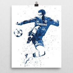 Eden Hazard poster. Hazard is a Belgian professional footballer who plays for Chelsea and the Belgium national team. Hazard's creativity, speed, and technical ability are widely acknowledged. He has b