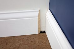 Coping Baseboards...I always wanted to know how to do that!!