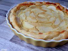 Apfel-Tarte mit Mandelcreme