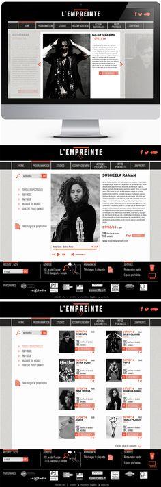Projet. Création d'un logo. Refonte du site d'une salle de concert rock indé en région parisienne. Gilby Clarke, Rock Indé, Pop Rock, Concert Rock, Rap, Pandora, Logo, Concert Hall, Logos