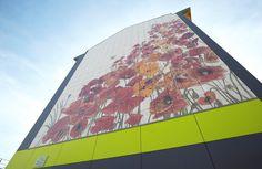 Références de bâtiments avec bardage céramique - RF CERAM