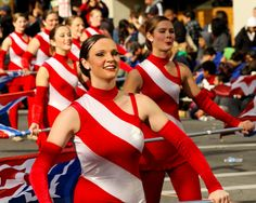 All American Honor Band Color Guard-TOTALLY on my bucket list! I had a friend march with them and she had a blast