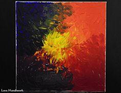 Multi-Colour Blend Abstract Square Painting by LoveHandyWork Color Blending, Abstract Paintings, Etsy Shop, Colour, Art, Paint, Color, Art Background, Kunst